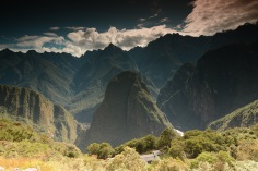 View from Machupicchu