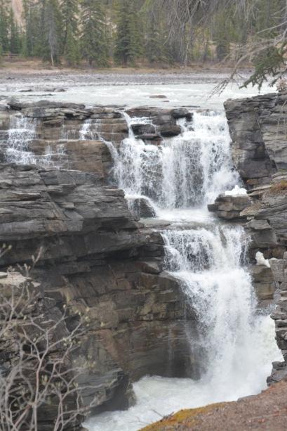 falls at Athabaska