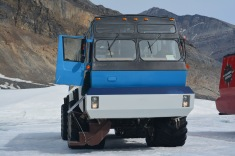 our taxi to the ice field