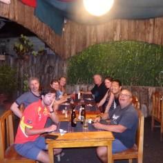 First dinner on Isabela