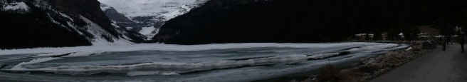 Panorama of Lake Louise