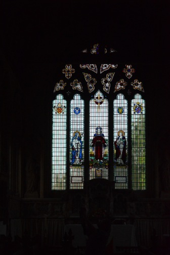 St Mary's Lawford, window over the alter