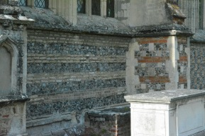 Brickwork at church