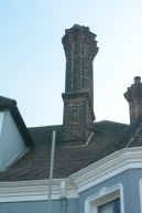 Ornate chimney