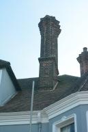 Ornate chimney