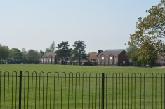 Former school, girls on the right with boys on the left