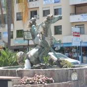 Statue in Malaga