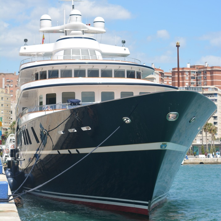 A rich mans boat