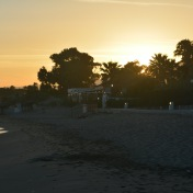 Sunset at Las Chapas