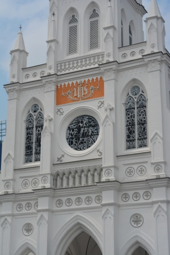 CHIJMES is a historic building complex in Singapore, which began life as a Catholic convent known as the Convent of the Holy Infant Jesus and convent quarters known as Caldwell House.