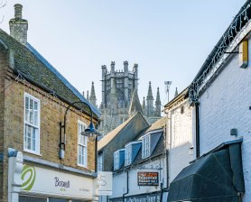 Ely from a side street