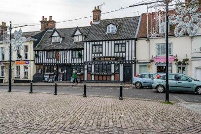 Old shops in Wymondham