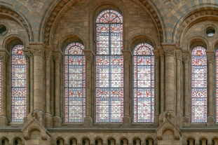 Stained glass windows of Natural History museum