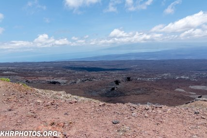 view from the volcano