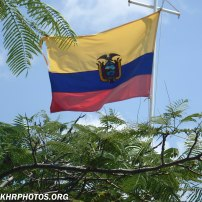 Equadorian flag