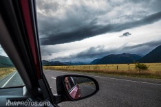 On the way to Arthurs pass an ominous sky